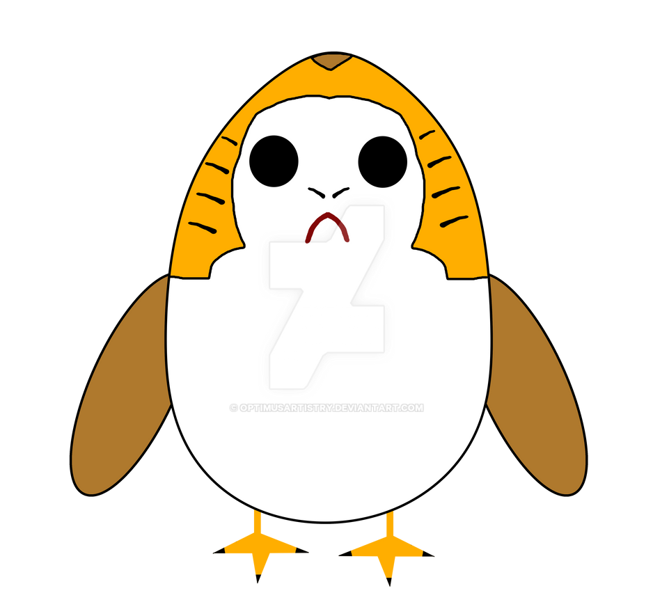 Just Porg by optimusartistry