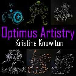 Metallic Art by optimusartistry