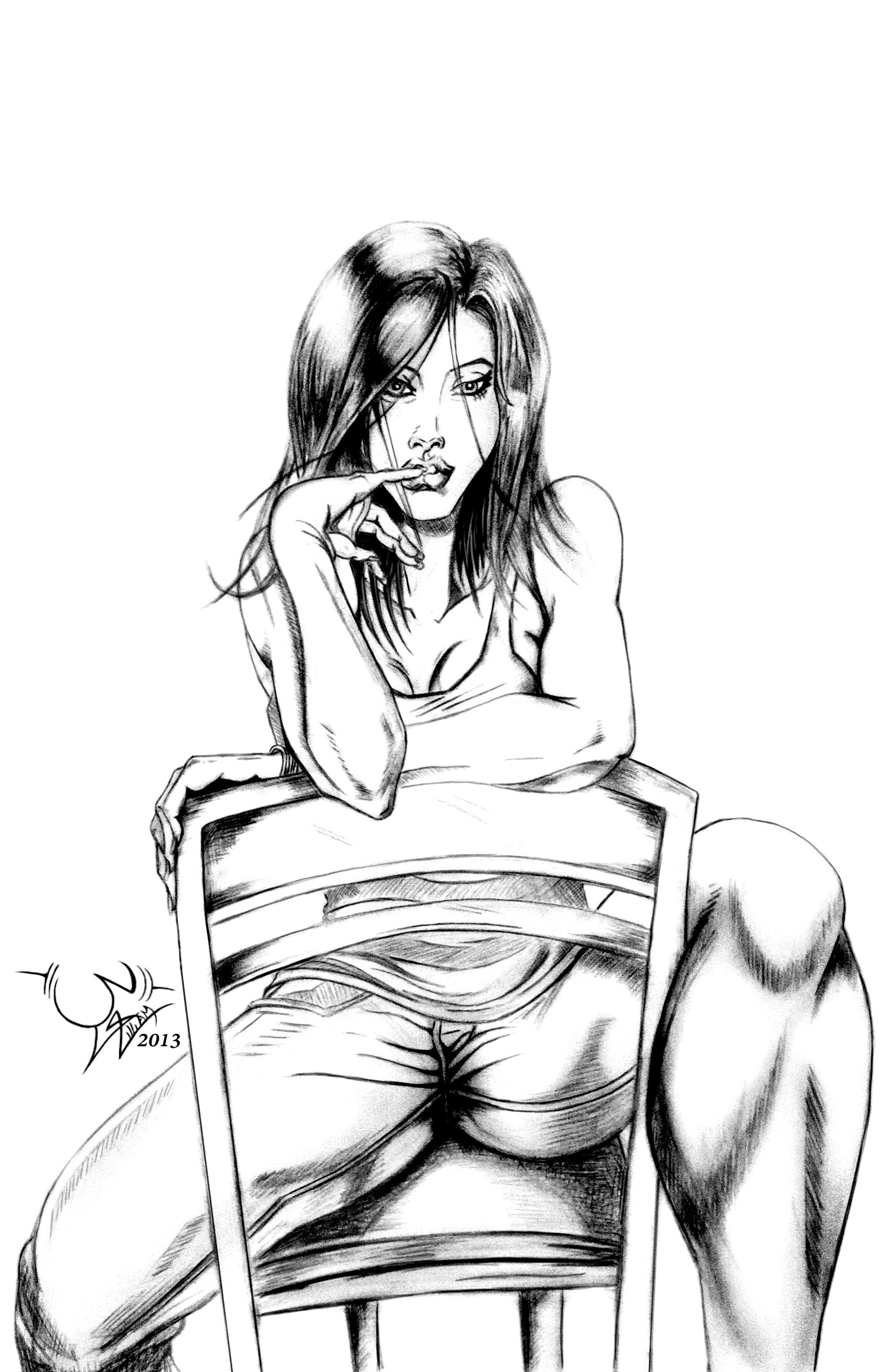 Art Room Drawing: Pencil Interrogation Room By Artwbig By Artwbig On DeviantArt
