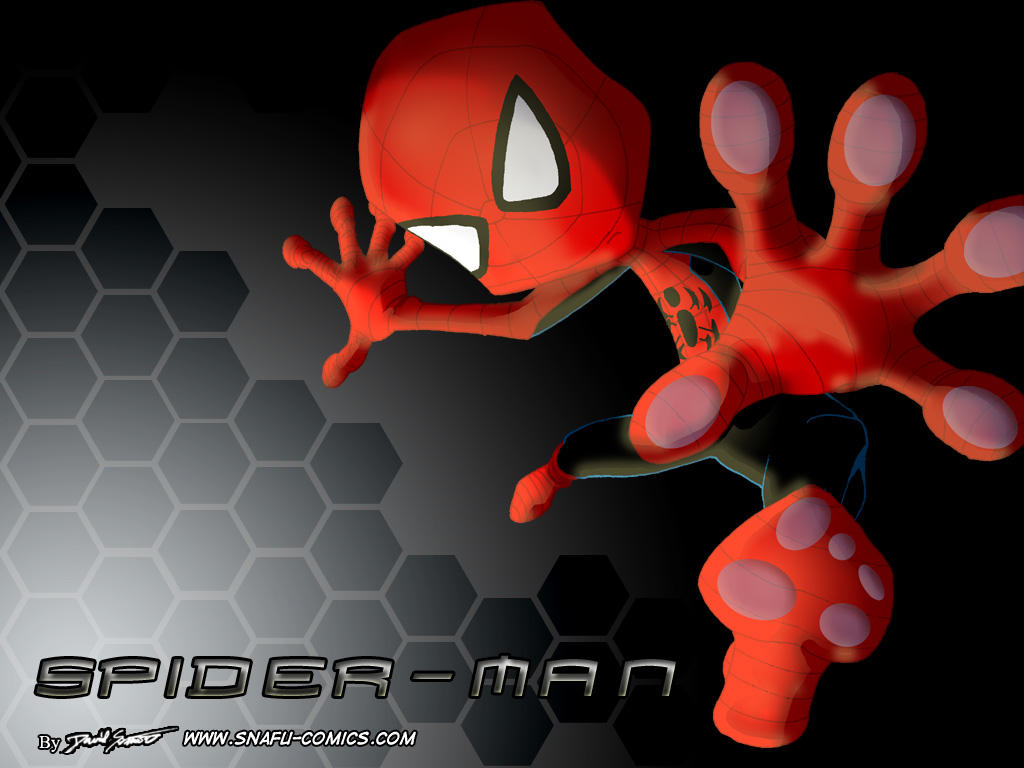 Spider-Man Screen by SnafuDave