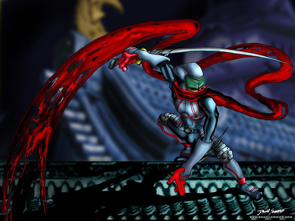 Shadow Ninja by SnafuDave