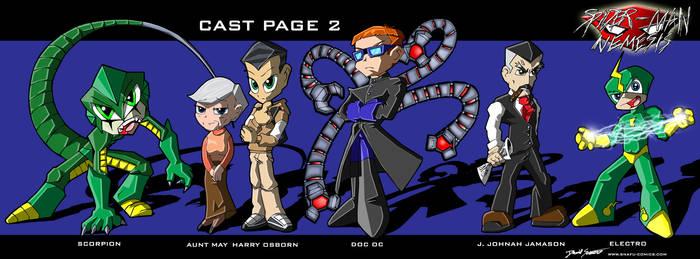 Spider-Man Nemisis Cast Page 2