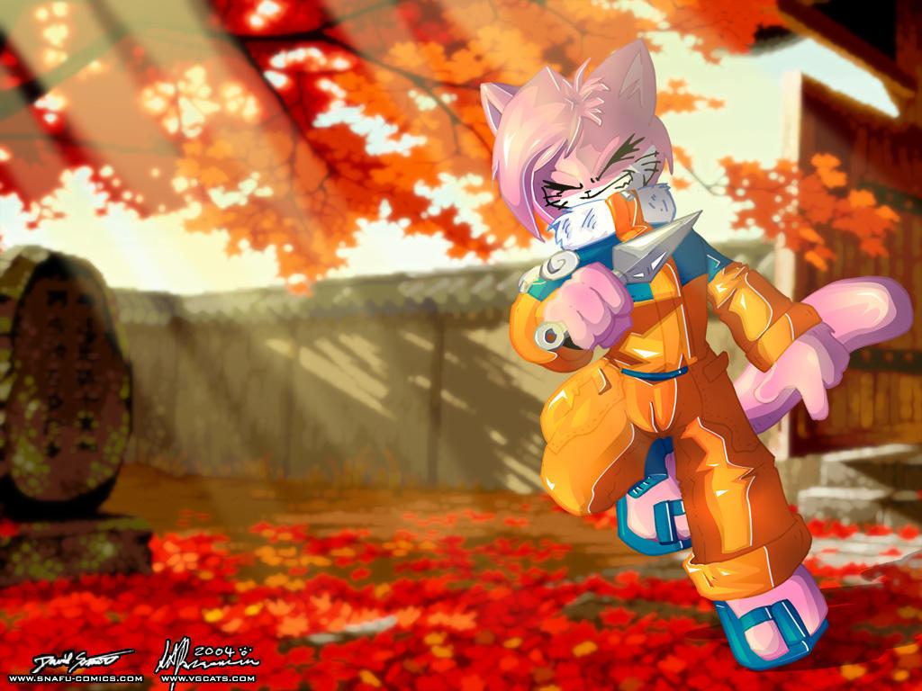 Naruto Aeris Wallpaper by SnafuDave