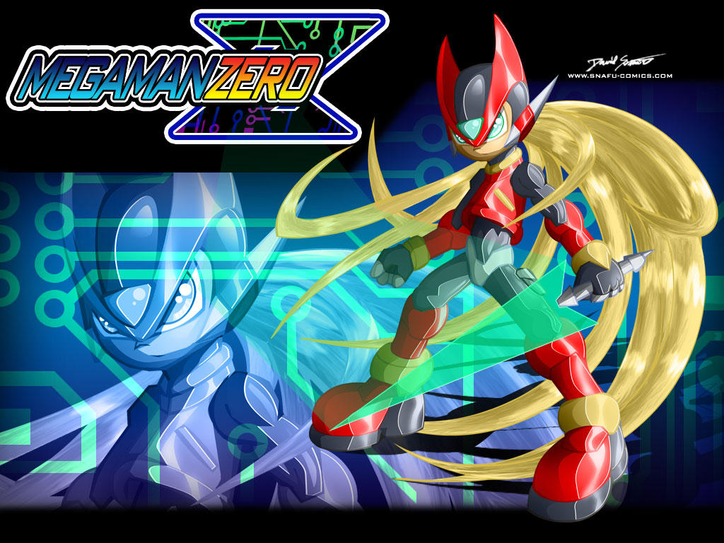 Mega Man Zero Wallpaper by SnafuDave