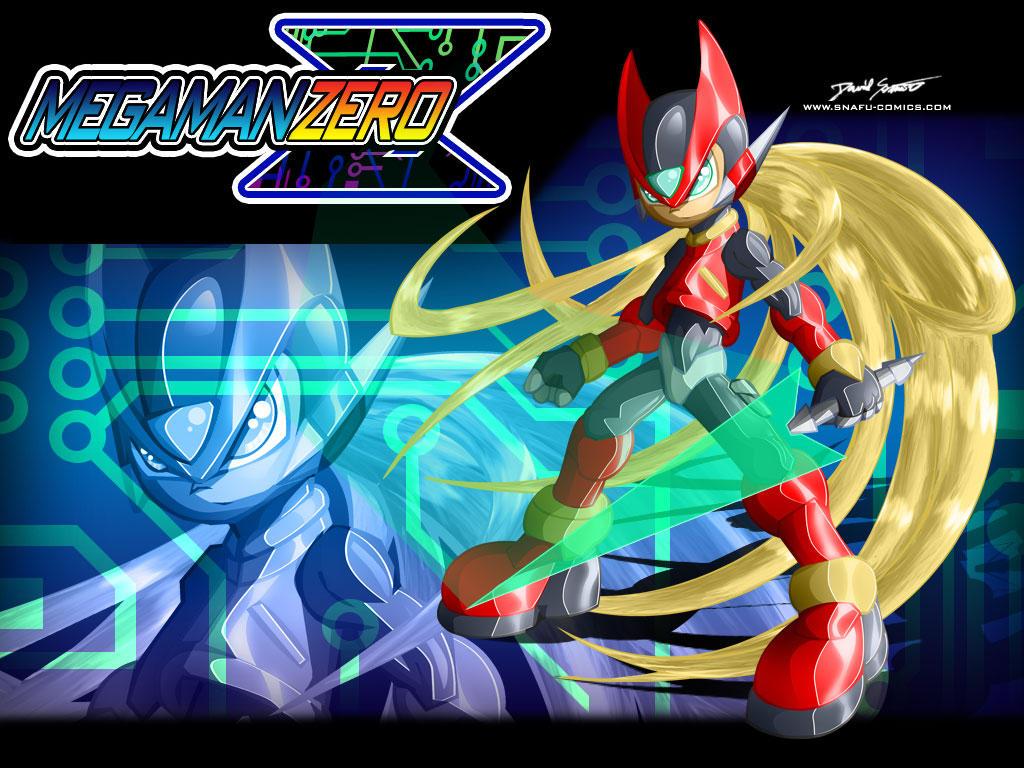 Mega Man Zero Wallpaper by SnafuDave