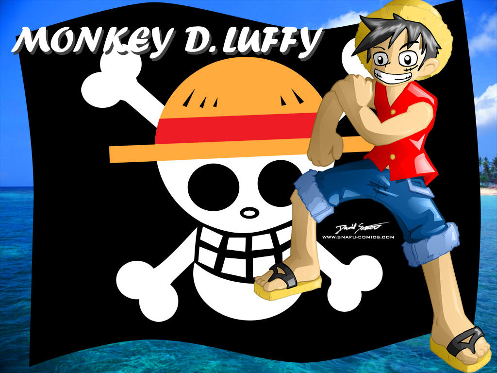 Monkey D. Luffy Wallpaper by SnafuDave