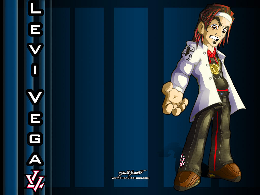 For Levi Vega: LV wallpaper. by SnafuDave