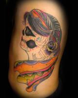 Day of the dead by tattookollin