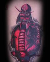 Mikes Samurai by tattookollin
