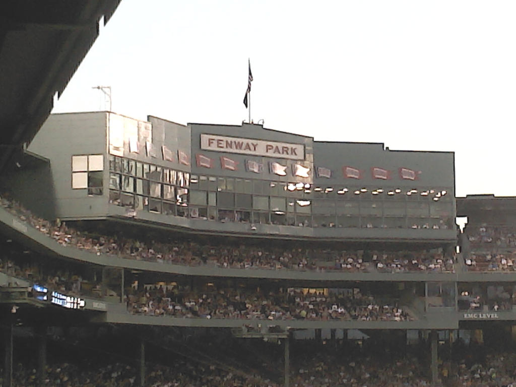 Fenway Press Box by Brushogen
