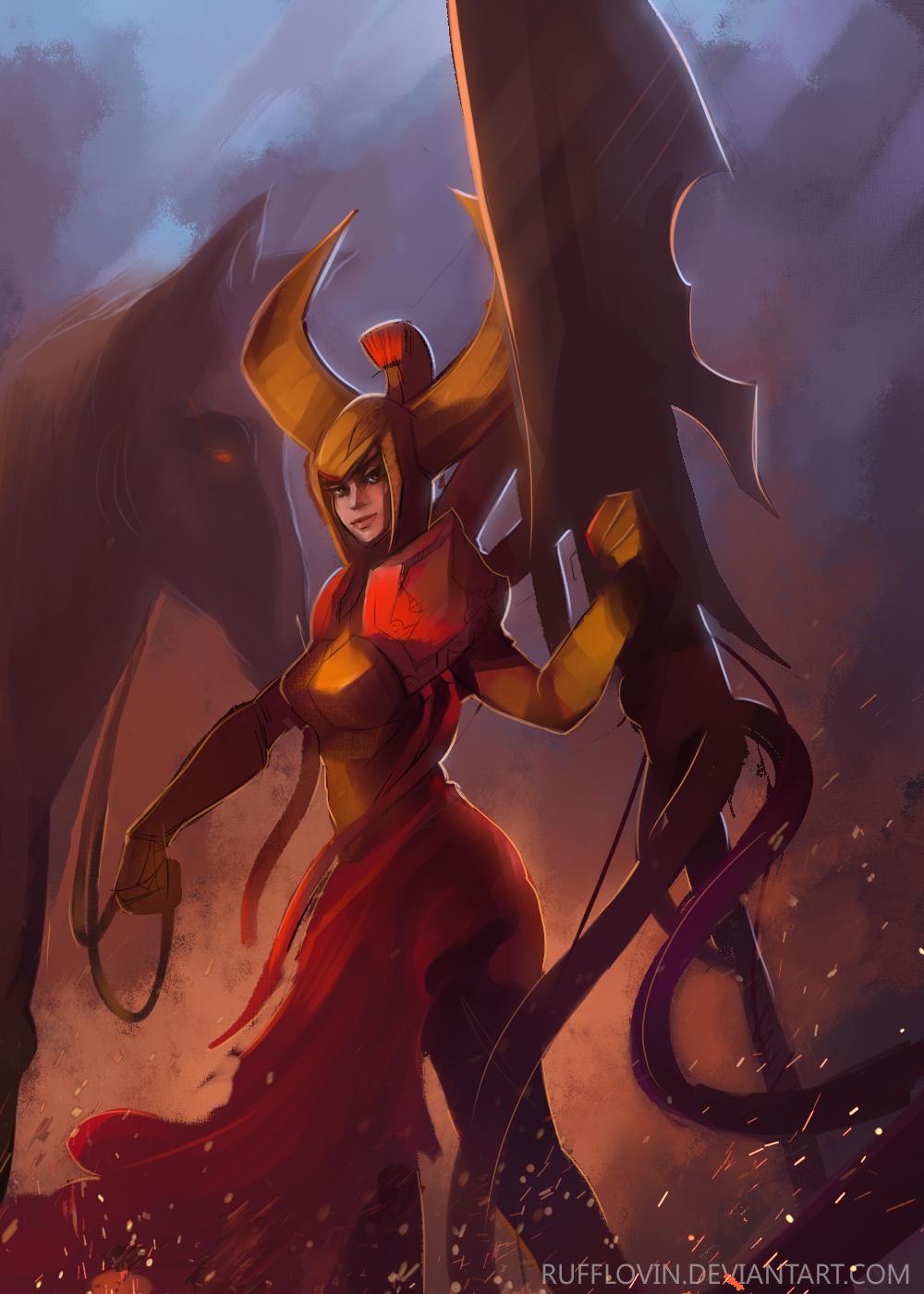 Legion Commander by Rufflovin