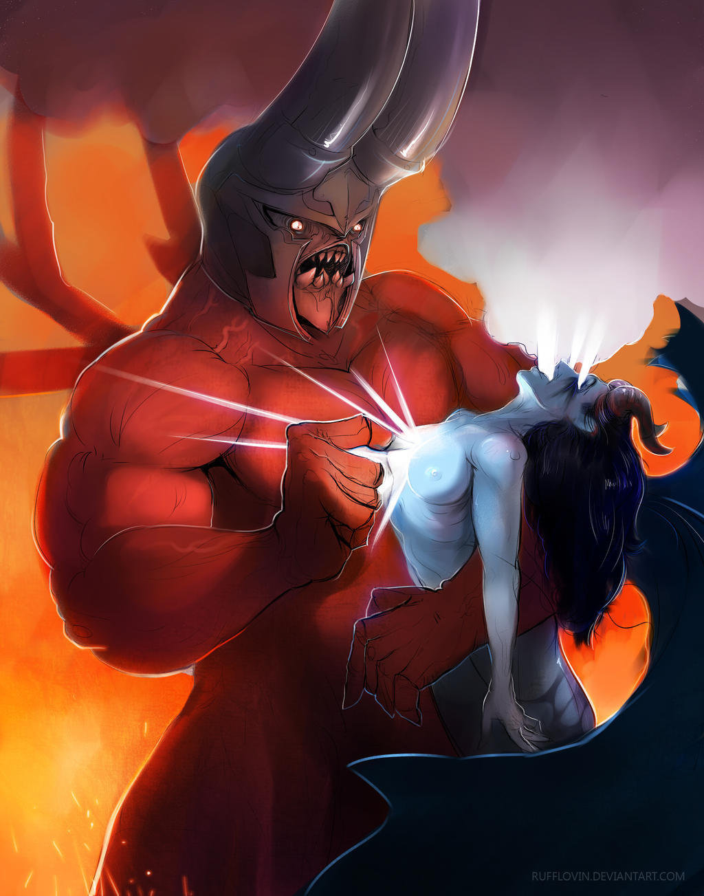 dota 2 heroes doom by meomoc on deviantart