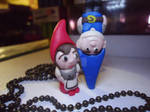 Gnomeo and Juliet Polymer clay