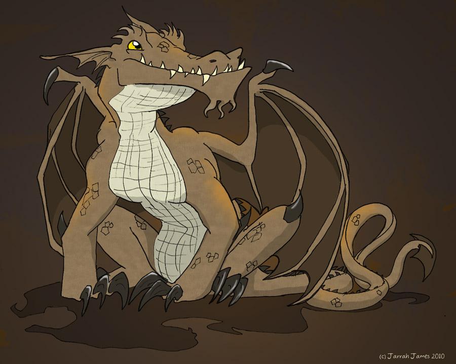 Swamp Dragon by Zartes