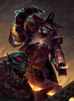Ork Void Pirate by MoonSkinned