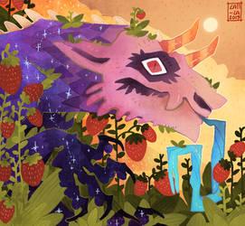 106# - Strawberry garden
