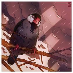 194# - Birdtober 4# - Java Sparrow