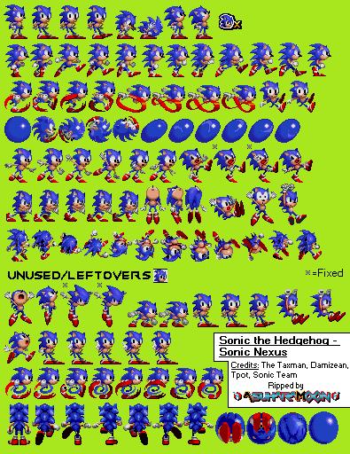 [Archive] Sonic The Hedgehog - Sonic Nexus (2008) by AsuharaMoon