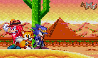 [Mini Collab] Sonic's Bizarre Adventure by AsuharaMoon