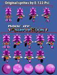 [Custom Sprites] Amy Rose (S.S.) - Knux' Chaotix