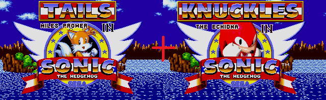 Hacks] Tails and Knux in Sonic 1 (CHECK DESCRIP ) by AsuharaMoon on