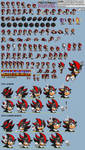 Shadow in Sonic 1 - Sprite Sheet and Release by AsuharaMoon