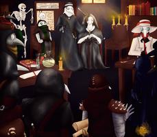 Darkest dungeon:Doctors convention.