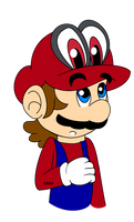 Mario And Cappy by YoloStarling84