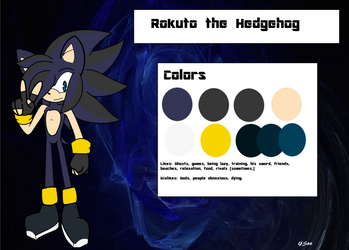 : . Rokuto Ref . : by YoloStarling84