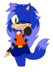 : . Jenny The HedgeWolf . : by YoloStarling84