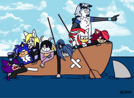 : . When Taking A Boat Trip.. . : by YoloStarling84
