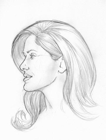 Salma Hayek Doodle By Wolfehanson On Deviantart
