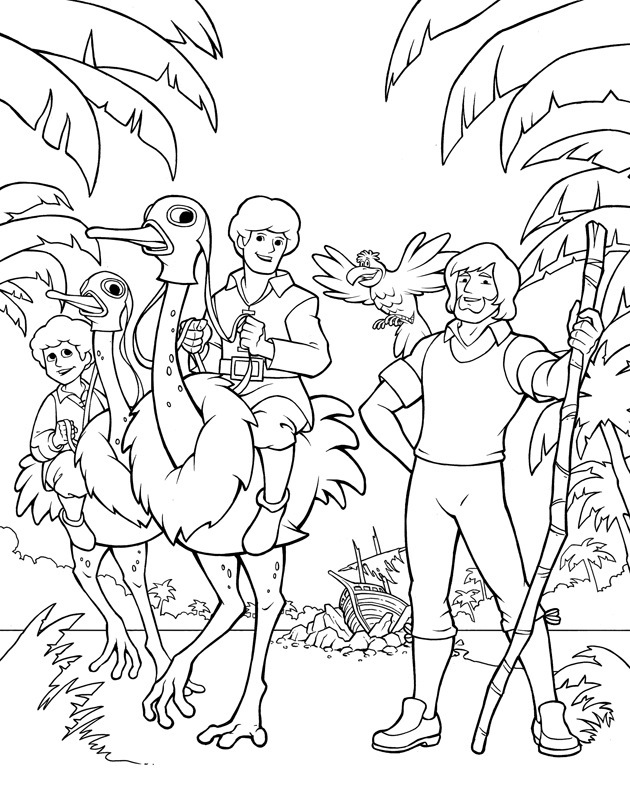 swiss scenes coloring pages - photo#18