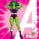 Vector Vengers: She-Hulk 2