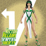 Vector Vengers: Asp (Serpent Society)