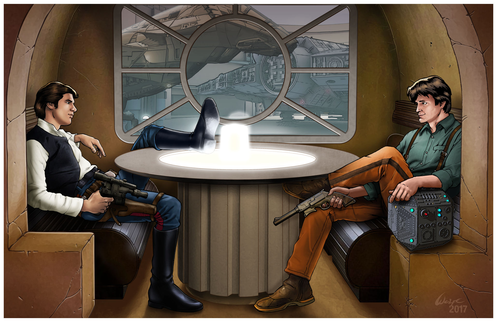 Star Wars/Firefly mashup: The Loot Dispute