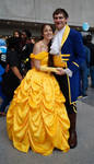 NYCC'14 Beauty and the Beast by zer0guard