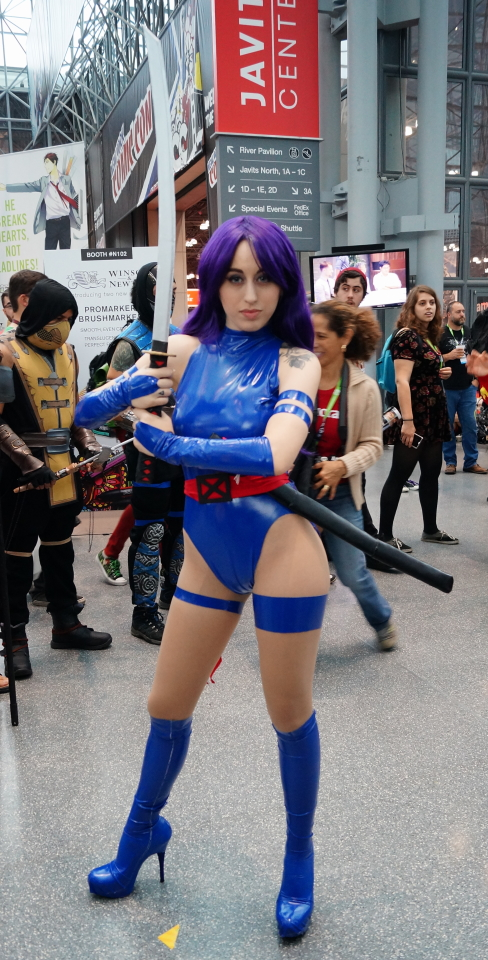 NYCC2015 Psylocke by zer0guard