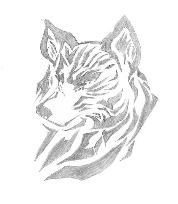 Awesome Wolf By XXJenn19