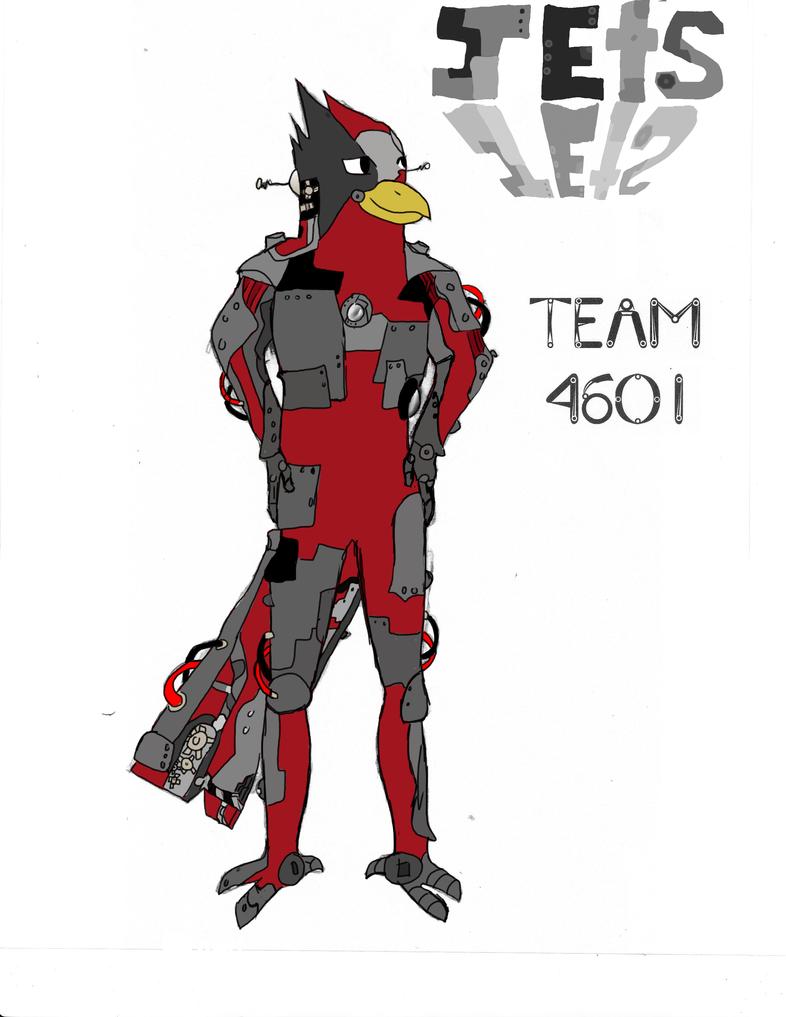 Robot Cardinal by xXJenn19
