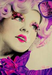 Effie Trinket aka Elizabeth Banks by Mim78