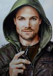 ARROW Oliver Queen aka Stephen Amell by Mim78