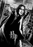 Severus Snape aka Alan Rickman, R.I.P.