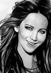 Jennifer Lawrence by Mim78