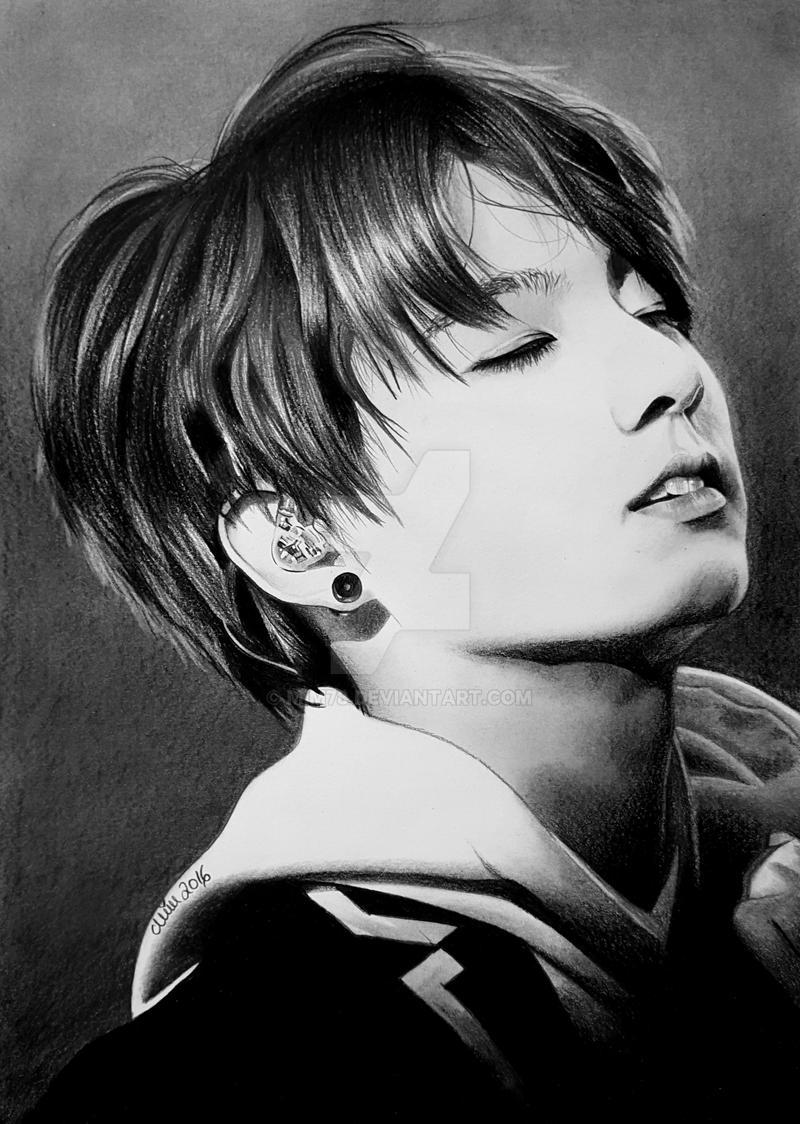Jungkook Bts Drawings: Jungkook Of BTS, Bangtan Boys, KPop By Mim78 On DeviantArt