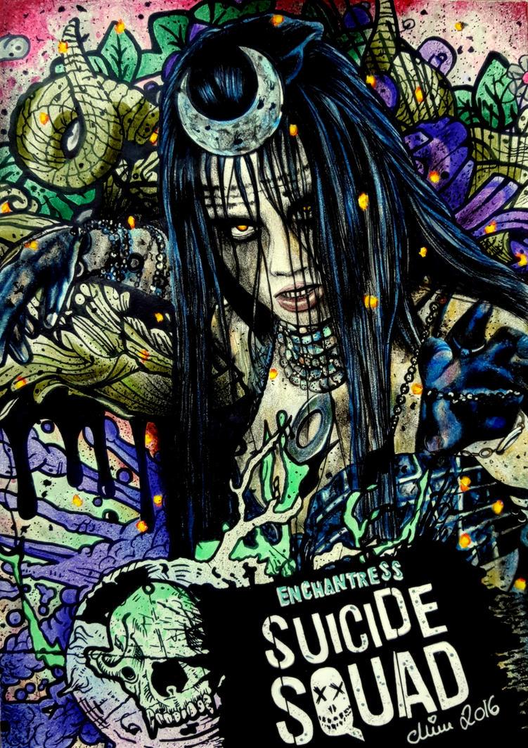 ENCHANTRESS aka Cara Delevingne, Suicide Squad by Mim78