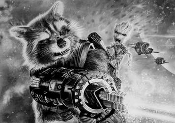 ROCKET and GROOT, Guardians of the Galaxy Vol. 2