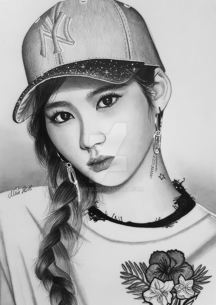 Sana of TWICE, Kpop by Mim78 on DeviantArt