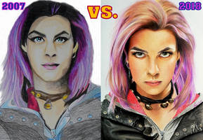 Natalia Tena aka TONKS, Harry Potter COMPARISON by Mim78