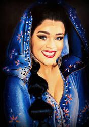 Nienke Latten as JASMINE, ALADDIN (Musical) by Mim78